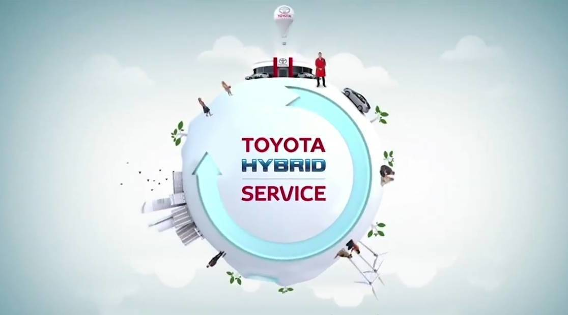 Toyota Hybrid Service Giannitsas